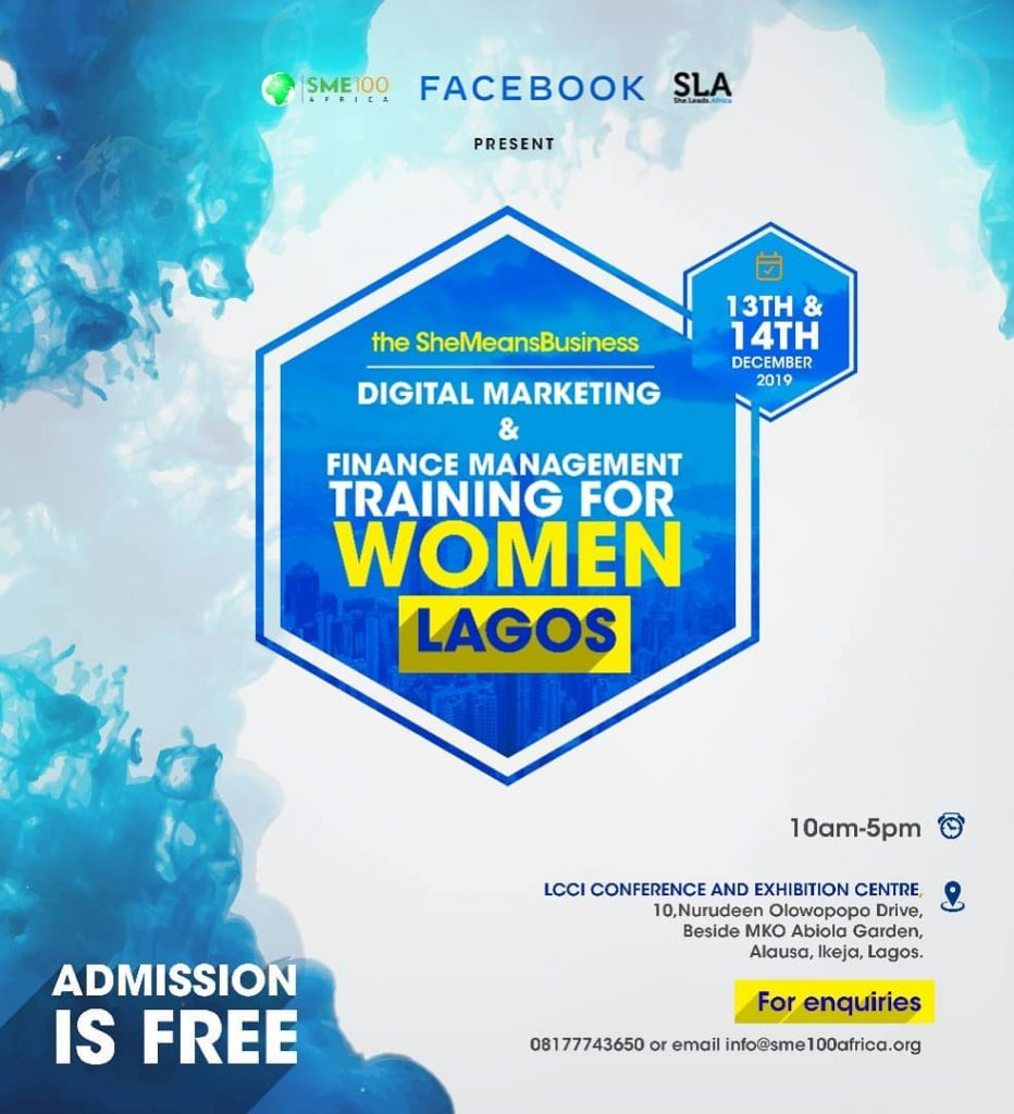 FACEBOOK DIGITAL AND FINANCE TRAINING