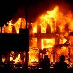 market fire