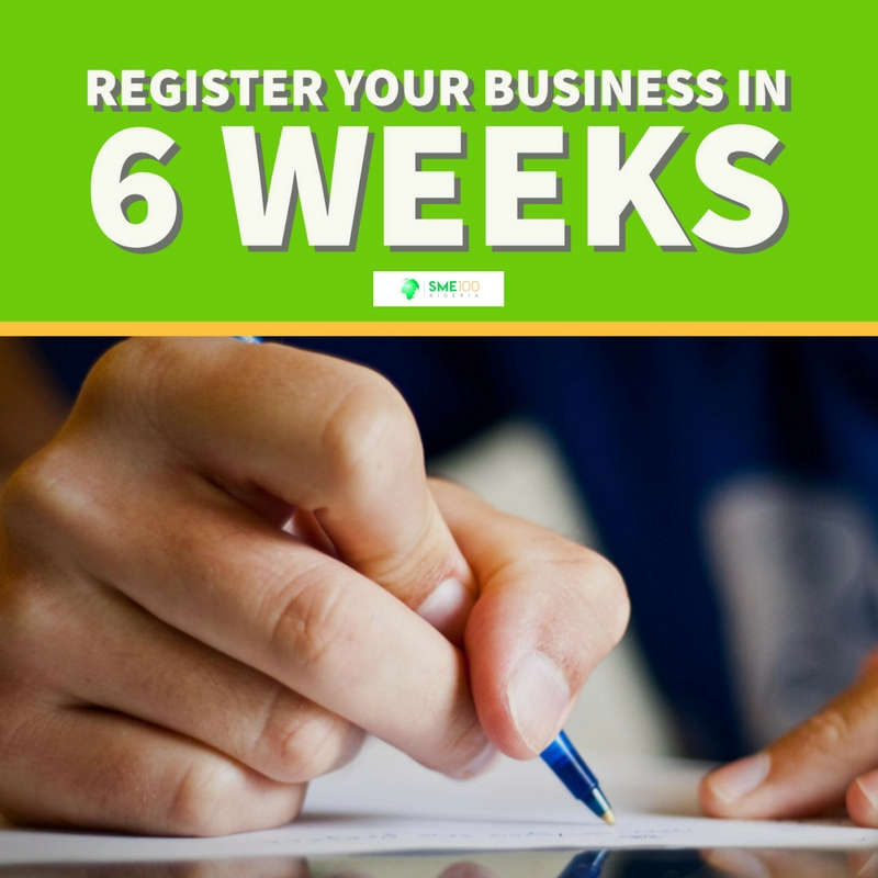 You are currently viewing You Can Register Your Business in 6 Weeks