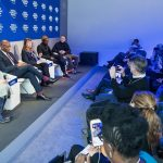 Chairman of Heirs Holdings, the United Bank for Africa, Tony Elumelu, speaks on State of Startups at the World Economic Forum