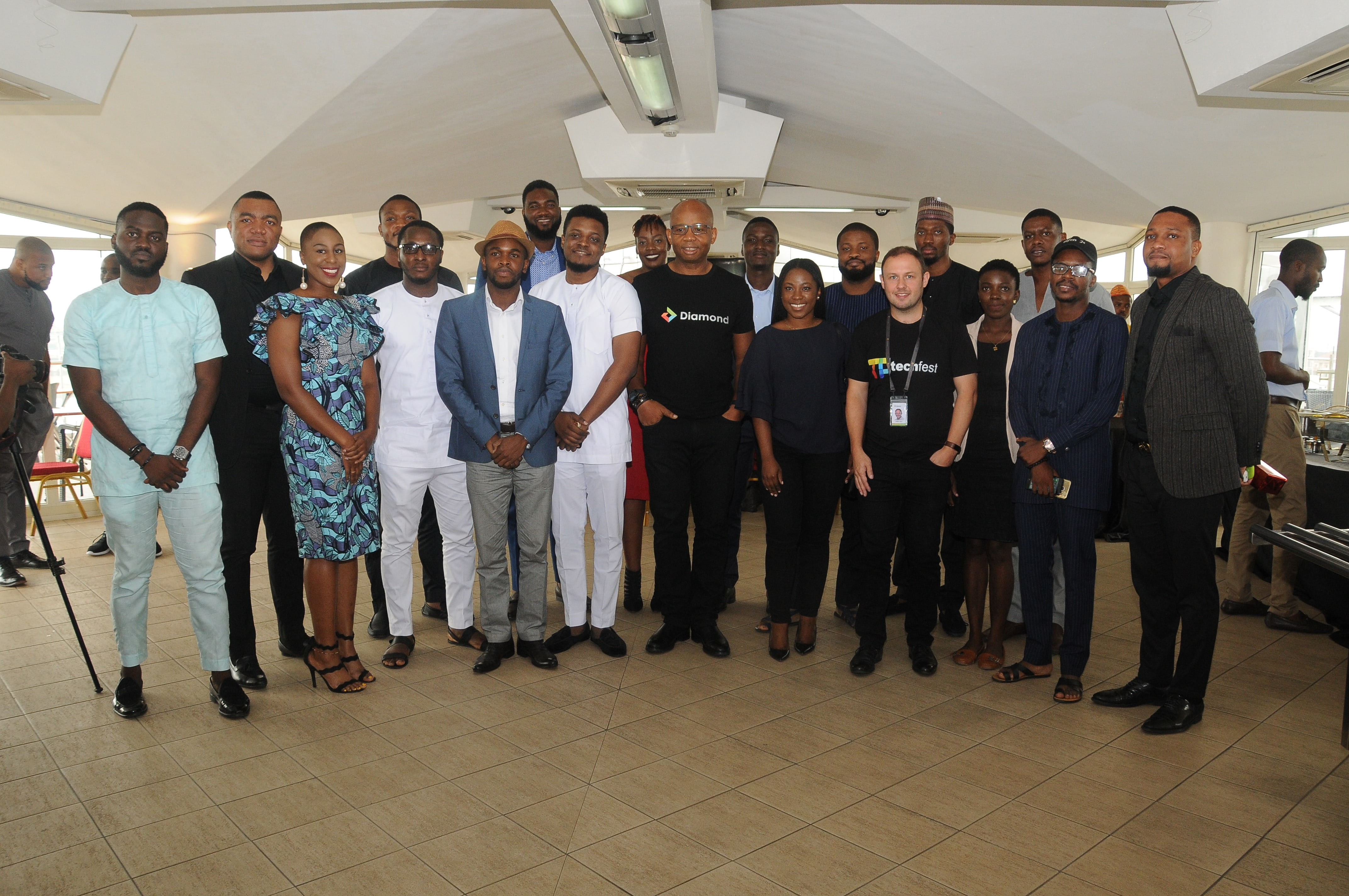 Read more about the article SME100 TECH BREAKFAST WITH UZOMA DOZIE, CEO DIAMOND BANK