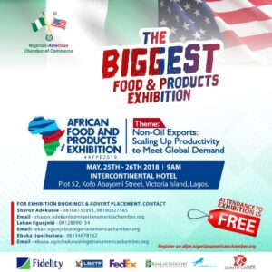 Read more about the article AFRICAN FOOD & PRODUCTS EXHIBITION 2018