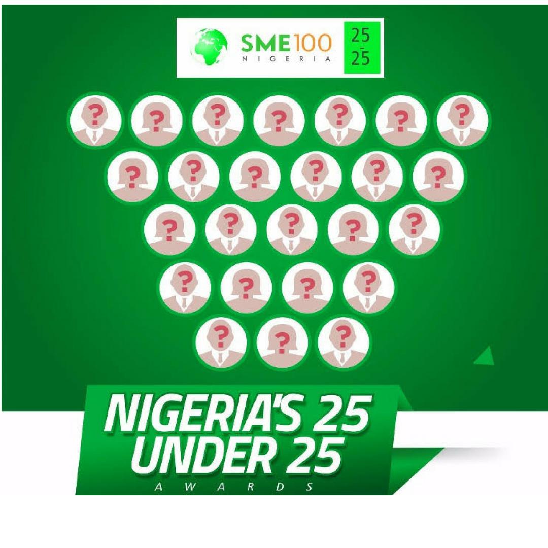 SME100 25UNDER25 AWARDS 2018
