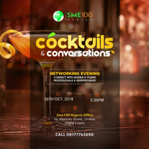 HIGHLIGHTS OF COCKTAILS AND CONVERSATIONS OCTOBER,2018 EDITION