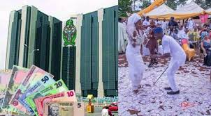 Read more about the article CBN Bans Spraying of Naira Notes; Defaulters To Be Jailed Or Pay 50k Fine.