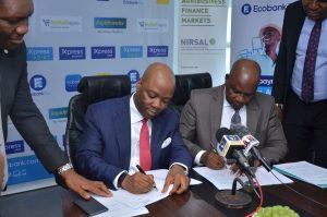 Read more about the article Good News For Agro-Entrepreneur As Ecobank, NIRSAL Signs MoU on Agric Financing