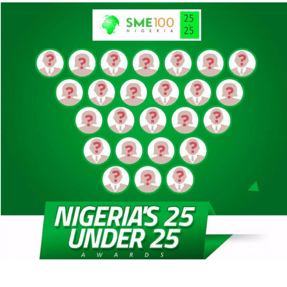 SME100 AFRICA 25 UNDER 25 AWARDS 2019