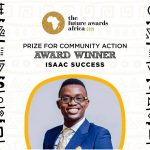 Two time Nominee of 25 under 25 wins The Future Awards.