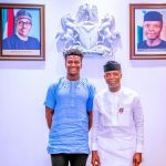 Silas Adekunle a young-adult from Nigeria making history