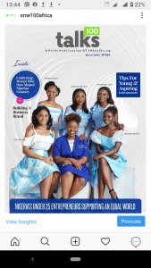 Read more about the article Meet Nigerian Female Young Entrepreneurs supporting an equal world