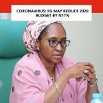 FG To Reduce 2020 Budget By 1Trillion Naira