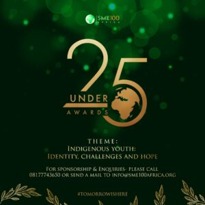 25under25 Awards 2020 Nomination Portal Opened