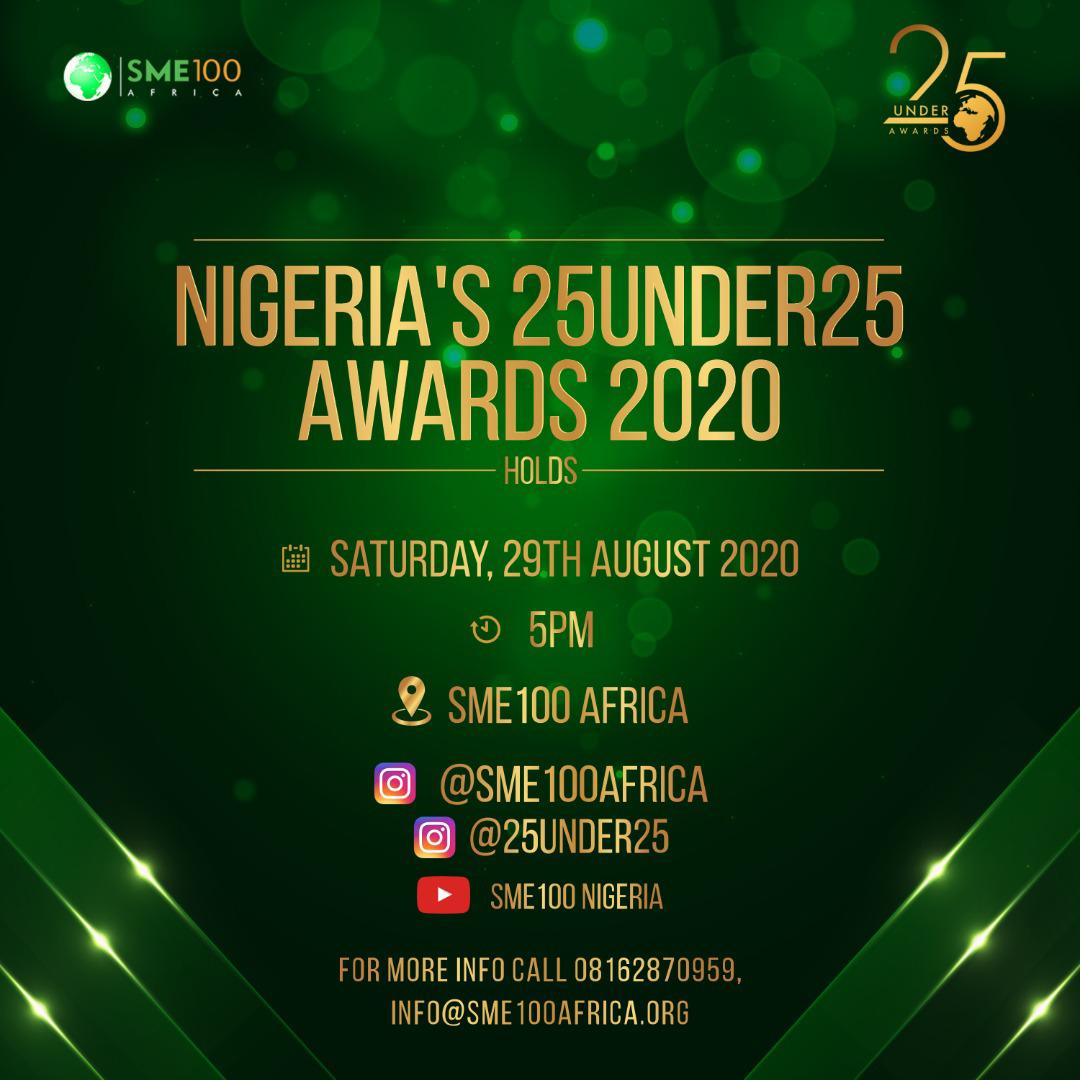 Read more about the article KIKI OSINBAJO, TAAOOMA, KUMI JUBA, CAPTAIN E, SYDNEY TALKER OTHERS NOMINATED FOR NIGERIA's 25 UNDER 25 Awards.
