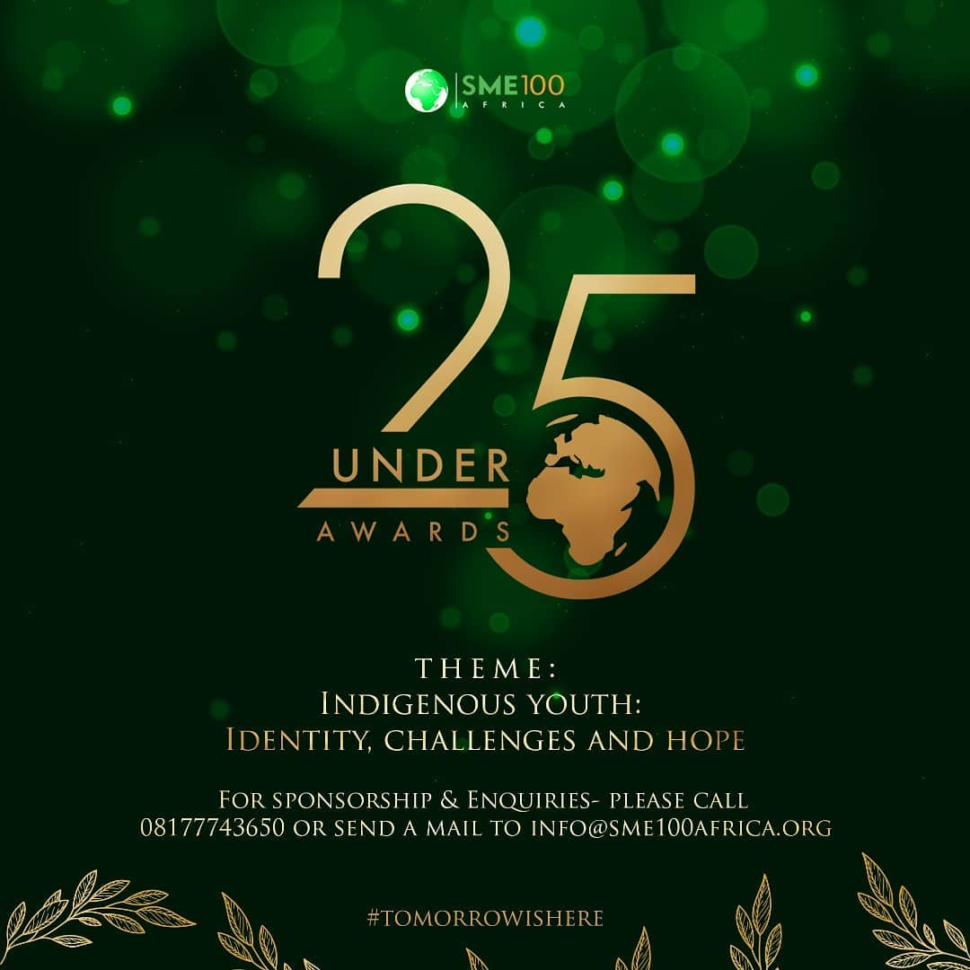 You are currently viewing MEET THE NOMINEES OF THE 25UNDER25 AWARDS 2020 EDITION
