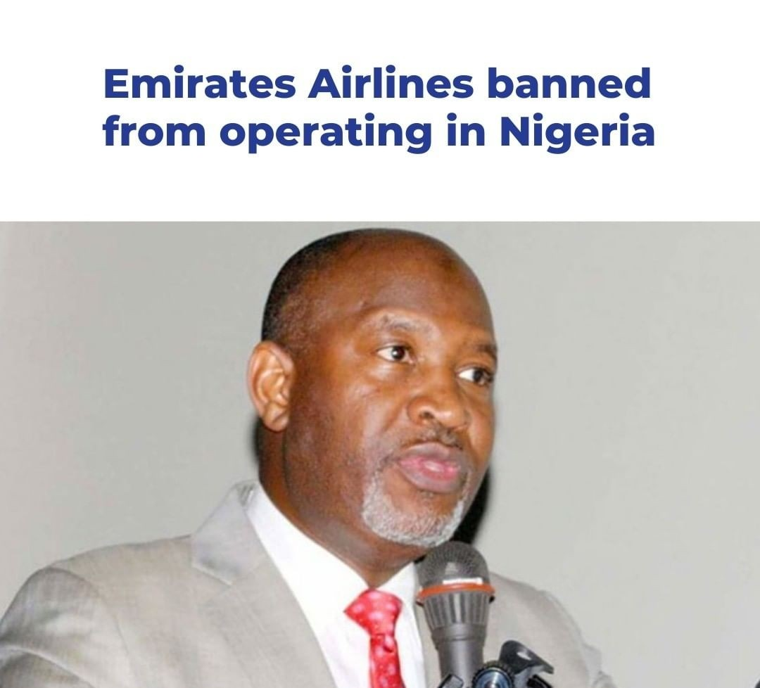 Read more about the article Nigeria Bans Emirate Airline