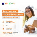 The 2nd Day For The Virtual Digital Training For Women Is This SATURDAY!