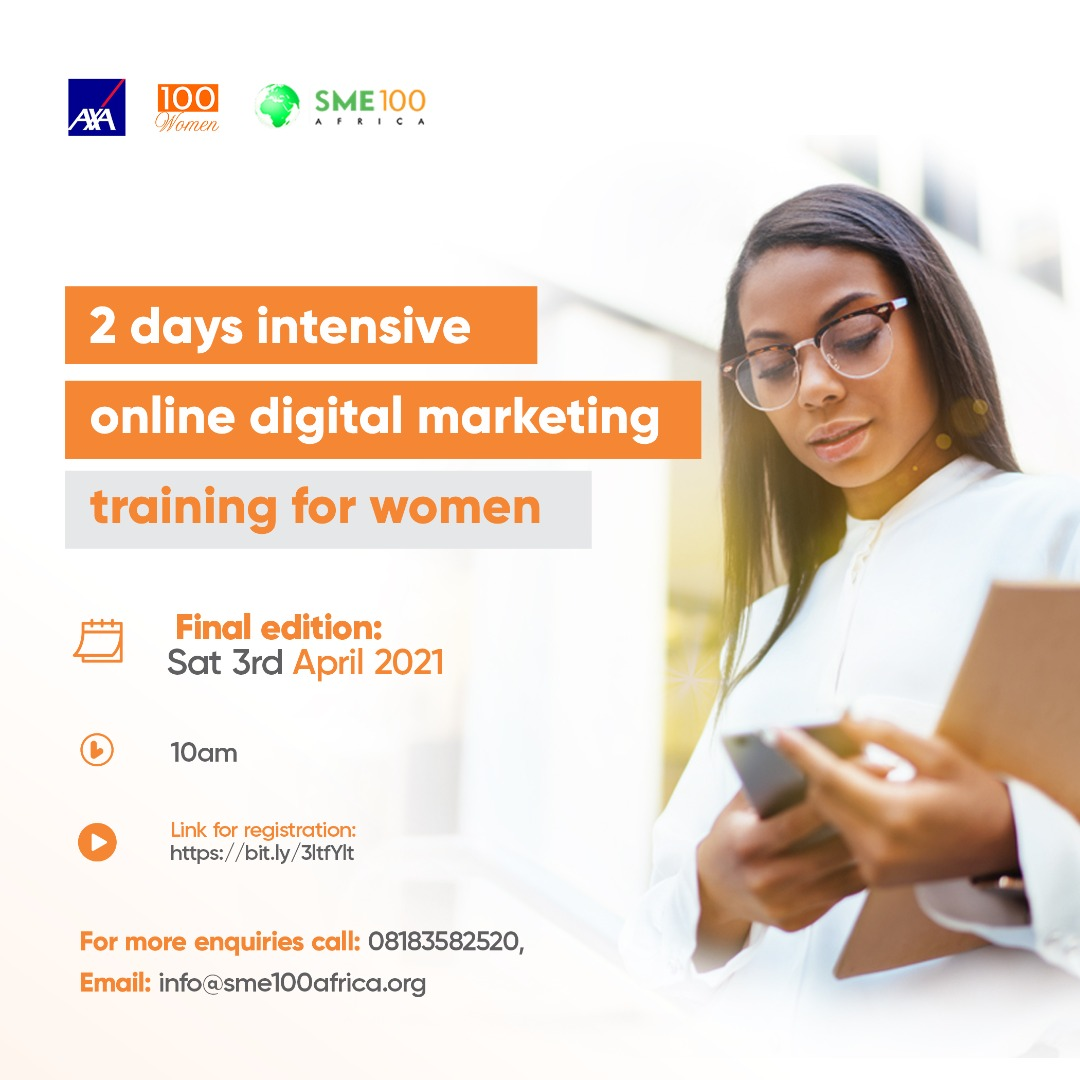 Read more about the article The 2nd Day For The Virtual Digital Training For Women Is This SATURDAY!