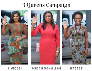 International Women's Day 2021: 3 Queens Campaign Special