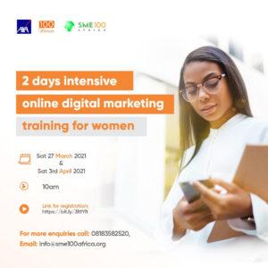 Virtual Digital Marketing Training For Women Begins Tomorrow!!!