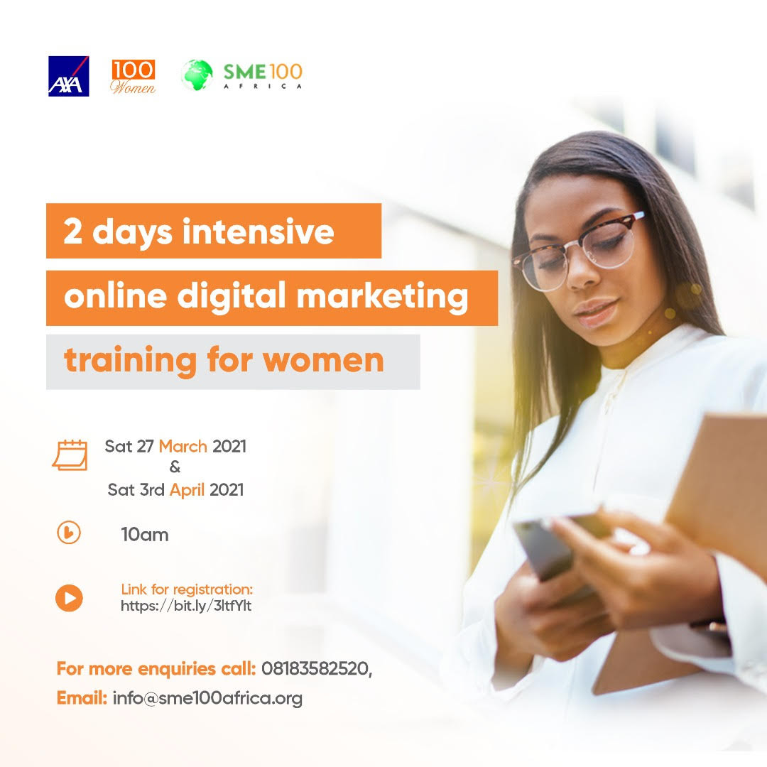 Read more about the article Virtual Digital Marketing Training For Women Begins Tomorrow!!!