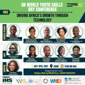 Read more about the article Weforgood, IHS And United Nations Information Centre Collaborate To Host UN World Youth Skills Day Conference