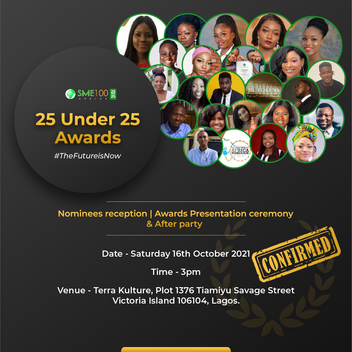 You are currently viewing It's The Sixth Edition of The Nigeria's 25 Under 25 Awards
